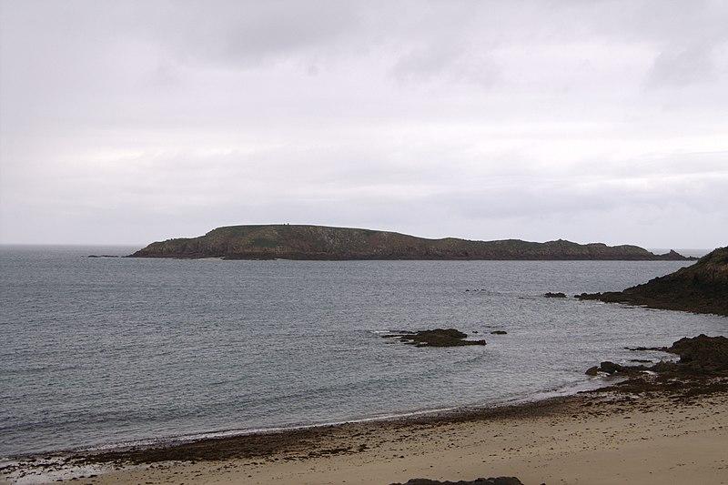 Photo du Monument Historique Ile Agot renfermant des sites protohistoriques situé à Saint-Briac-sur-Mer