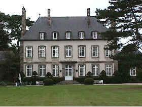 Photo du Monument Historique Malouinière de la Ville-Bague situé à Saint-Coulomb