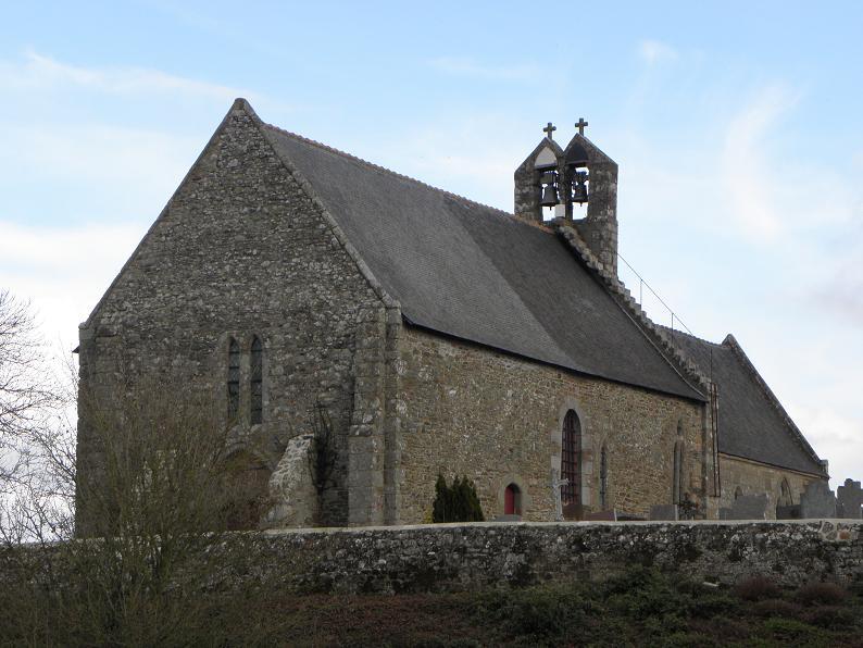 Photo du Monument Historique Eglise Saint-Georges situé à Saint-Georges-de-Gréhaigne