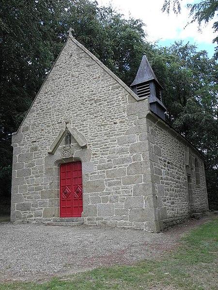 Photo du Monument Historique Chapelle de Marigny situé à Saint-Germain-en-Coglès