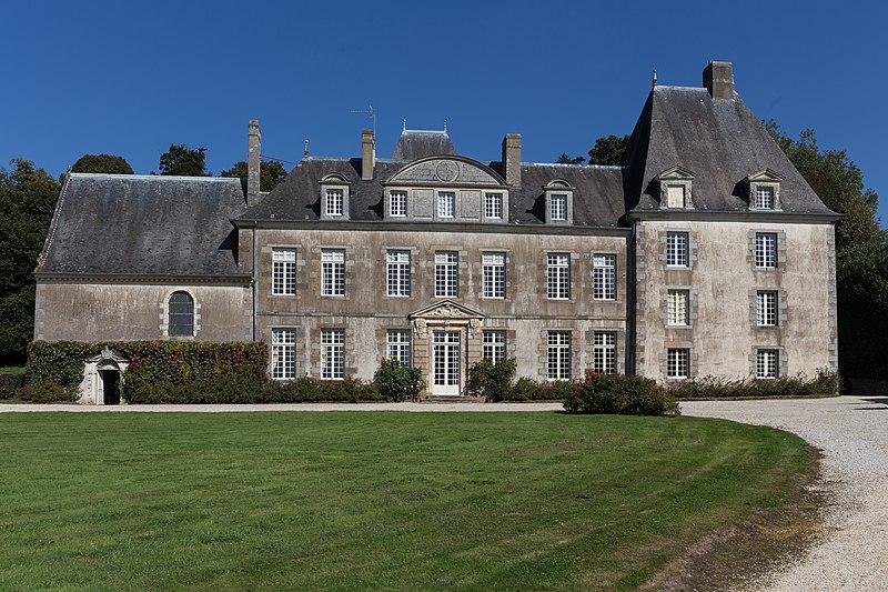Photo du Monument Historique Château du Verger au Coq situé à Saint-Germain-sur-Ille