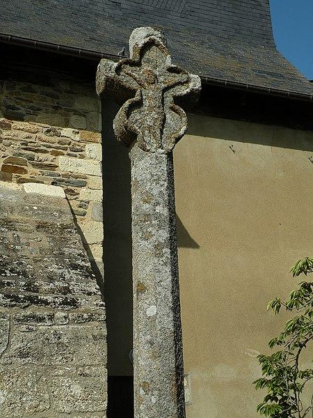 Photo du Monument Historique Croix du 15e siècle situé à Saint-Grégoire