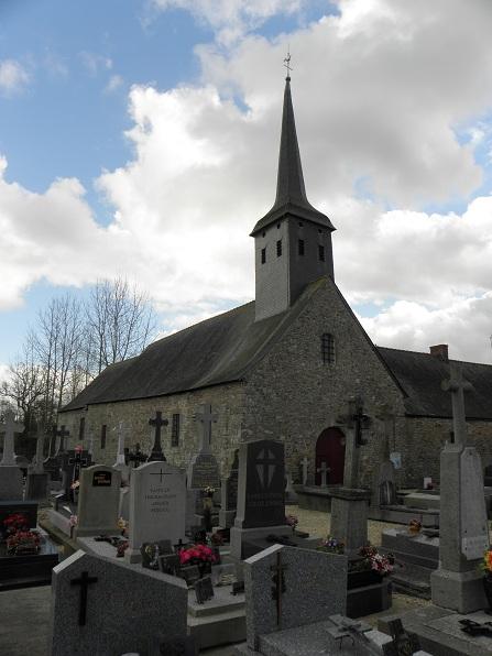 Photo du Monument Historique Eglise Saint-Léger et presbytère attenant situé à Saint-Léger-des-Prés