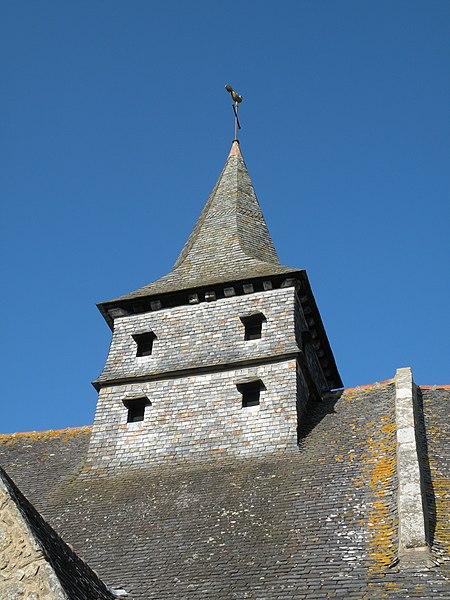 Photo du Monument Historique Ancienne église Saint-Lunaire situé à Saint-Lunaire