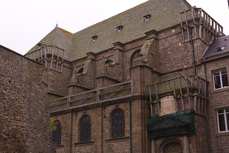 Photo du Monument Historique Ancienne abbaye Saint-Benoît, actuellement palais de justice situé à Saint-Malo