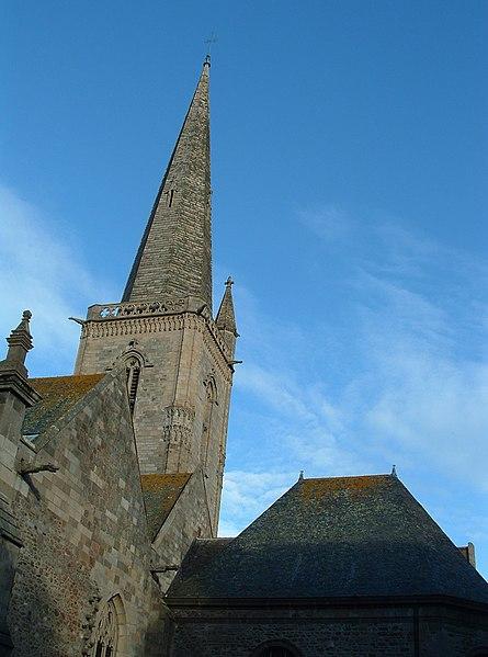 Photo du Monument Historique Ancienne cathédrale Saint-Vincent situé à Saint-Malo
