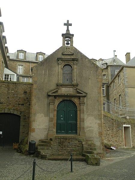 Photo du Monument Historique Chapelle Saint-Aaron situé à Saint-Malo