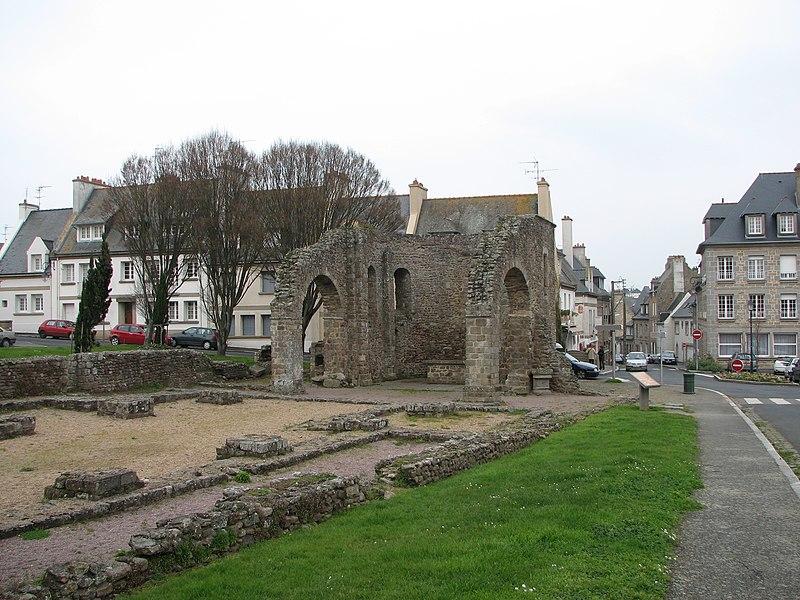 Photo du Monument Historique Cathédrale Saint-Pierre d'Aleth situé à Saint-Malo