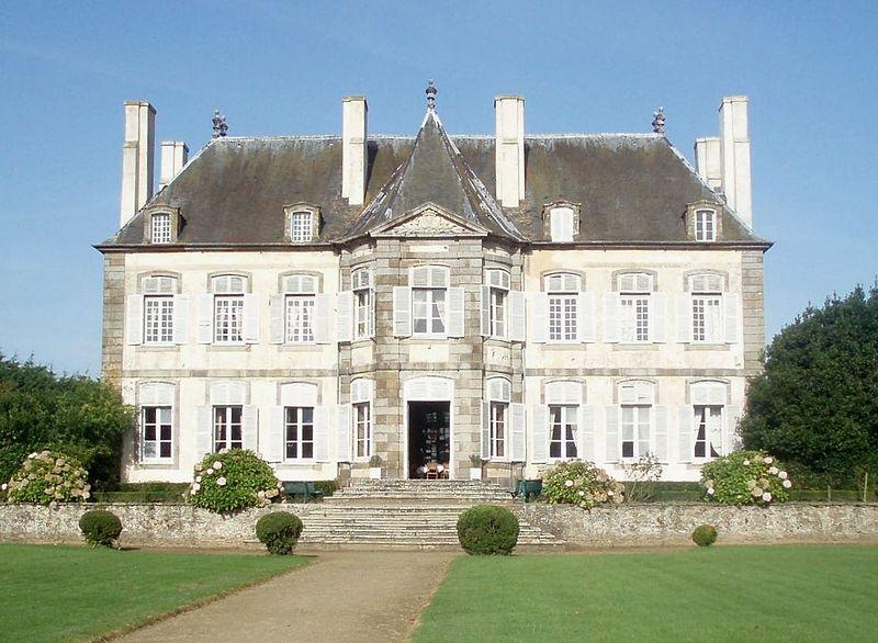 Photo du Monument Historique Château de la Chipaudière situé à Saint-Malo
