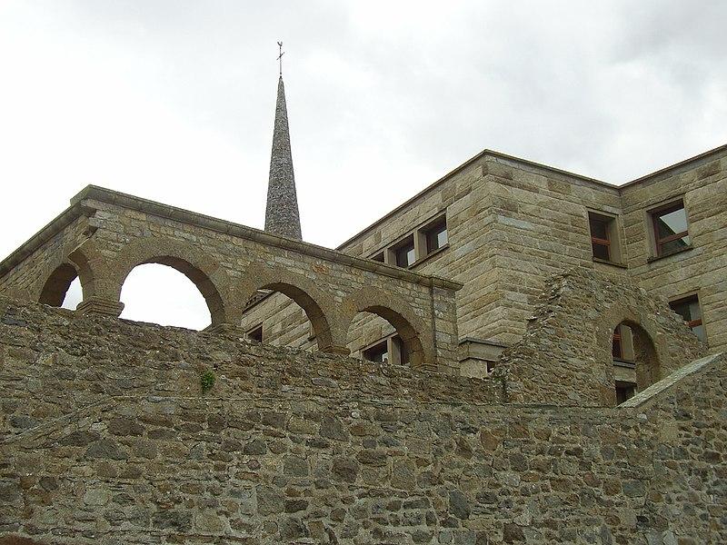 Photo du Monument Historique Ancien couvent Notre-Dame-des-Victoires, puis caserne des Victoires situé à Saint-Malo