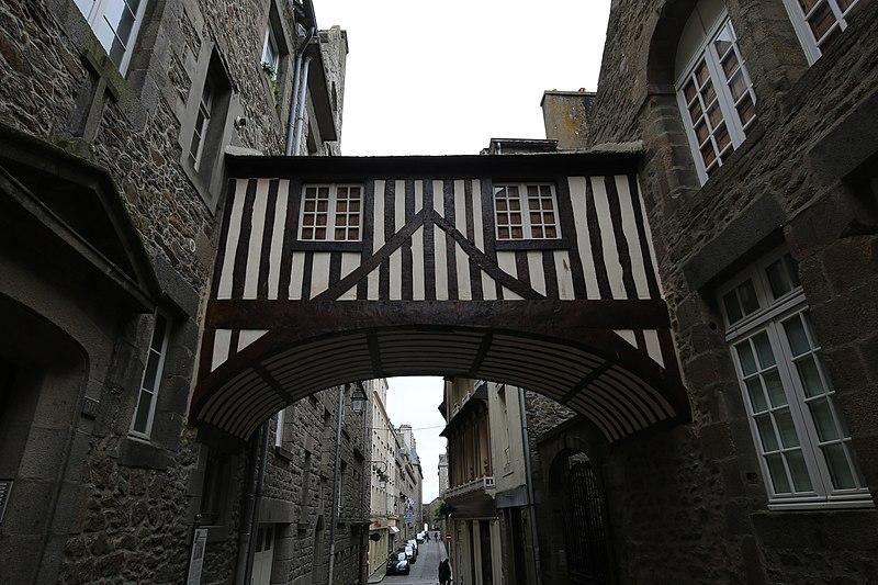 Photo du Monument Historique Ancien couvent des Récollets situé à Saint-Malo