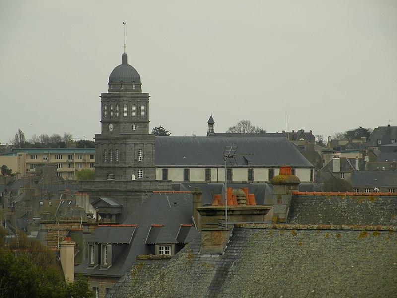 Photo du Monument Historique Eglise Sainte-Croix situé à Saint-Malo