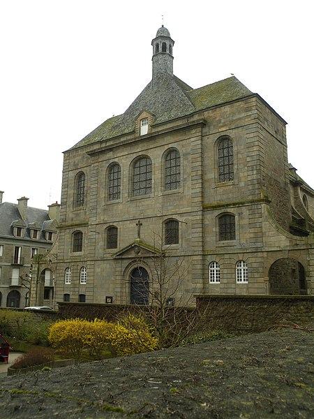 Photo du Monument Historique Eglise Saint-Sauveur (ancienne chapelle de l'Hôtel-Dieu) situé à Saint-Malo