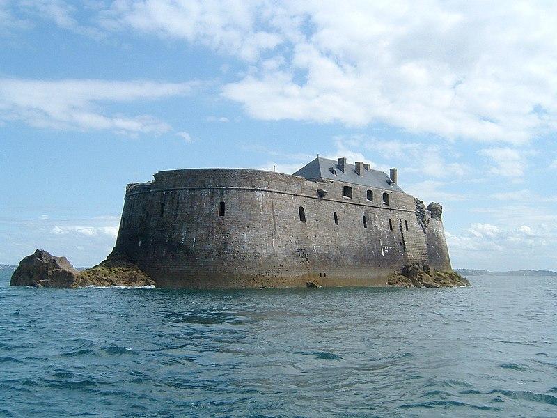 Photo du Monument Historique Fort de la Conchée situé à Saint-Malo