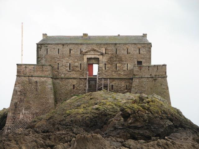 Photo du Monument Historique Fort du Petit Bé situé à Saint-Malo