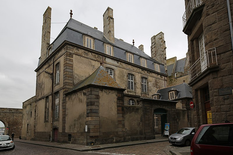 Photo du Monument Historique Hôtel Magon de la Lande dit hôtel d'Asfeld situé à Saint-Malo
