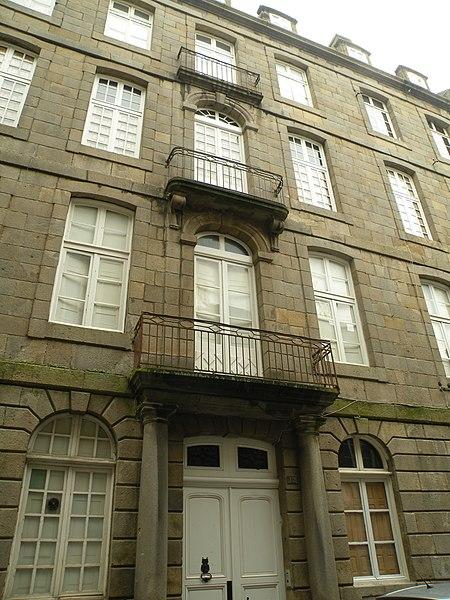 Photo du Monument Historique Maison ou Hôtel de la Grassinaye situé à Saint-Malo