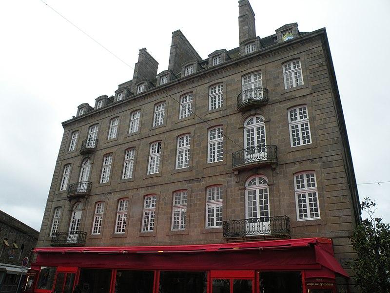 Photo du Monument Historique Maison ou hôtel Hay situé à Saint-Malo