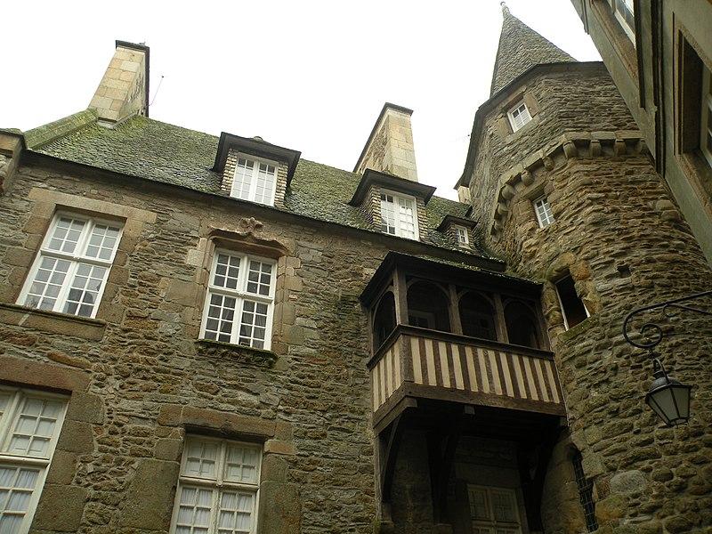 Photo du Monument Historique Maison de la Duchesse Anne situé à Saint-Malo