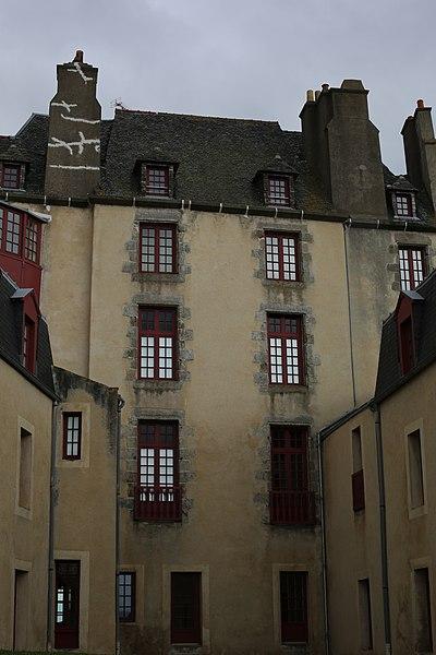 Photo du Monument Historique Maison natale de Surcouf, ou hôtel de la Bertaudière situé à Saint-Malo