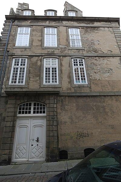 Photo du Monument Historique Maison (ancienne maison de corsaire) situé à Saint-Malo