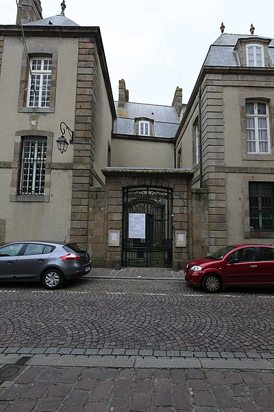Photo du Monument Historique Maison ou ancien Hôtel Magon de la Larde situé à Saint-Malo