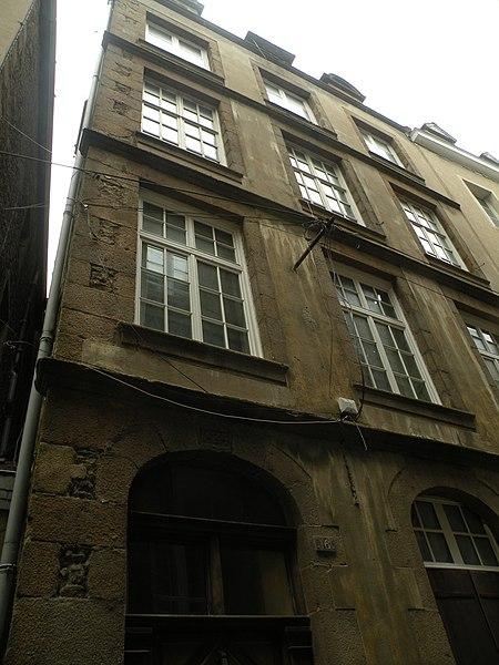 Photo du Monument Historique Maison situé à Saint-Malo