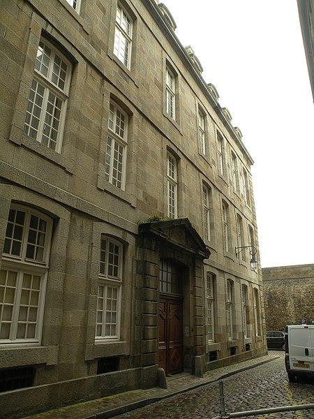 Photo du Monument Historique Maison ou hôtel de la Sauldre situé à Saint-Malo