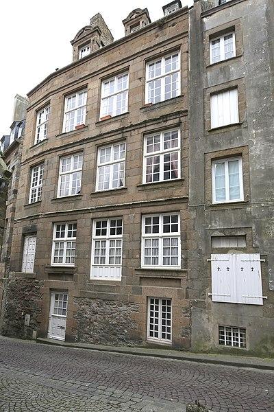 Photo du Monument Historique Maison dite du Gouverneur situé à Saint-Malo