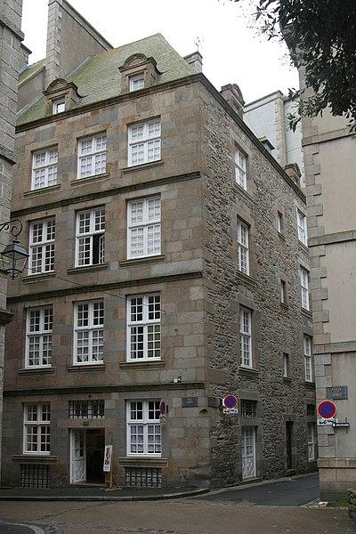 Photo du Monument Historique Immeuble situé à Saint-Malo