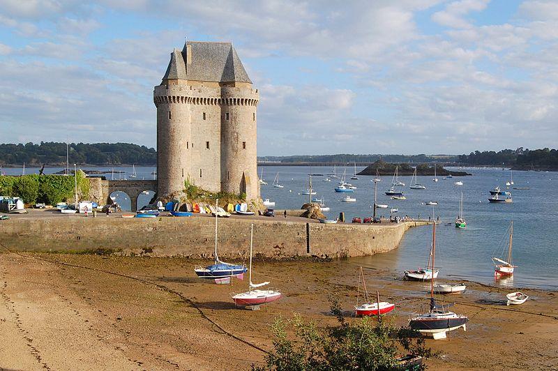 Photo du Monument Historique Tour Solidor et ouvrages avancés situé à Saint-Malo