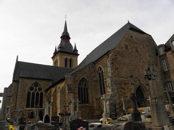 Photo du Monument Historique Ancienne abbaye Saint-Méen situé à Saint-Méen-le-Grand