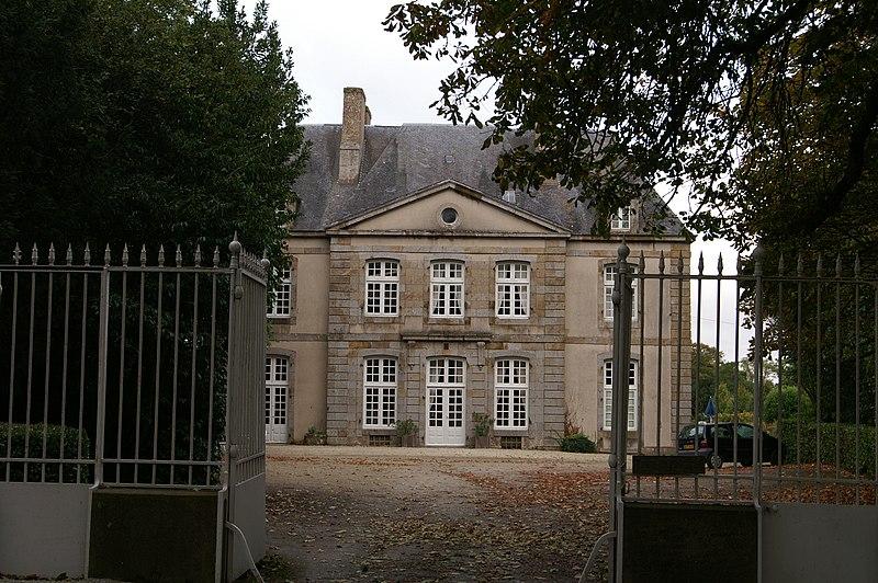 Photo du Monument Historique Château de Vaulerault situé à Saint-Méloir-des-Ondes