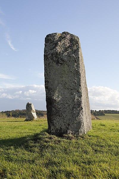 Photo du Monument Historique Menhir du Champ de la Pierre et menhir du Champ Horel situé à Le Sel-de-Bretagne