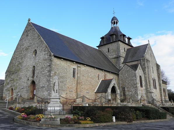 Photo du Monument Historique Eglise Saint-Martin situé à Tremblay