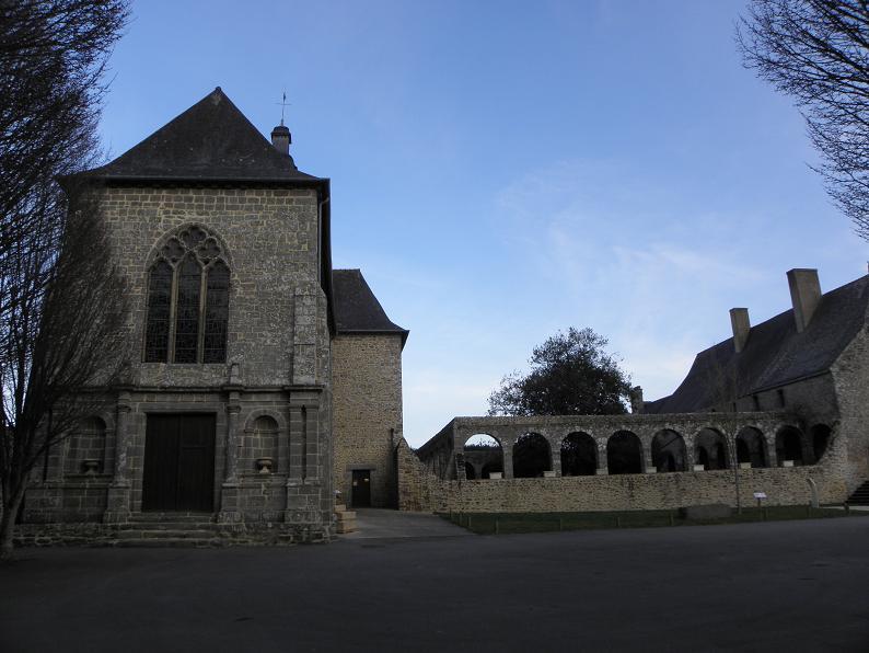 Photo du Monument Historique Restes de l'ancienne abbaye situé à Le Tronchet