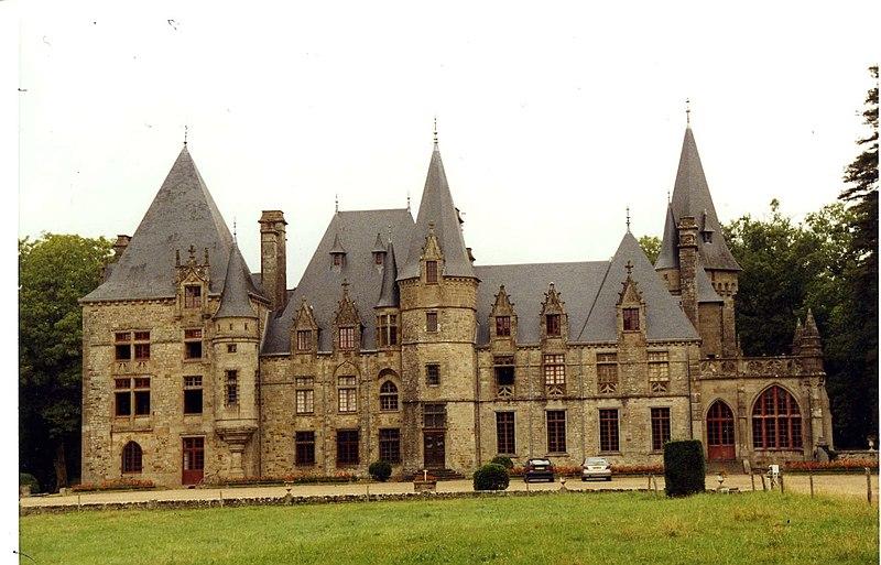 Photo du Monument Historique Château du Bois-Cornillé situé à Val-d'Izé