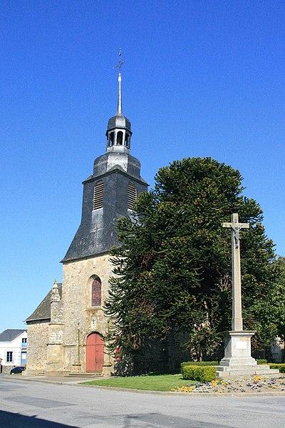 Photo du Monument Historique Eglise Saint-Pierre situé à Visseiche