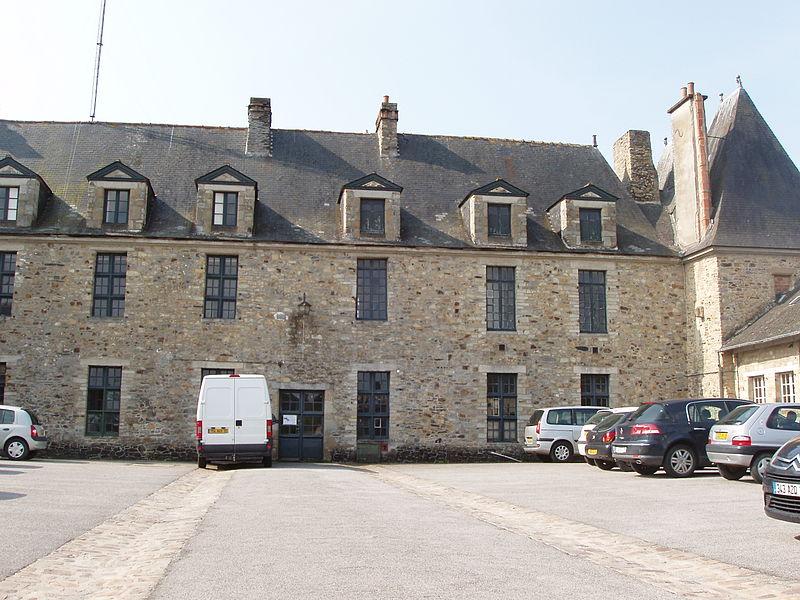 Photo du Monument Historique Château Marie situé à Vitré