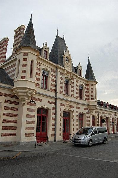 Photo du Monument Historique Gare situé à Vitré