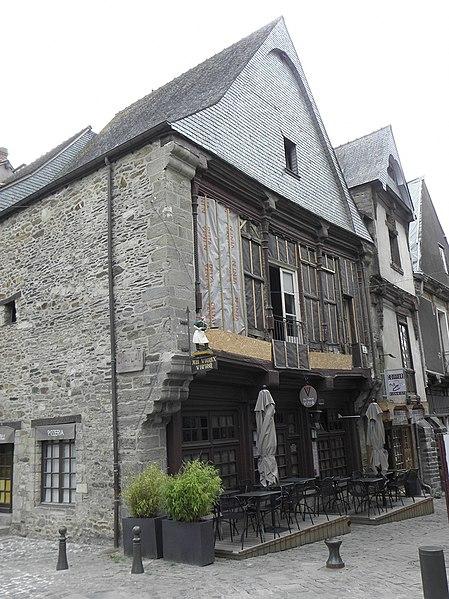 Photo du Monument Historique Maison Batteux situé à Vitré