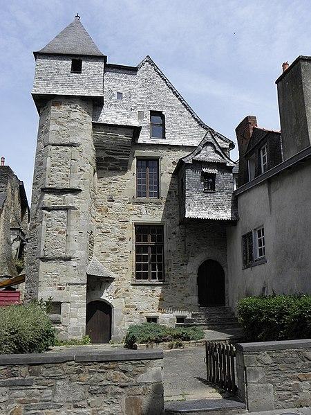 Photo du Monument Historique Ancien Hôtel du Bât ou du Bol d'Or situé à Vitré