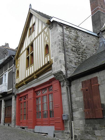 Photo du Monument Historique Maison situé à Vitré