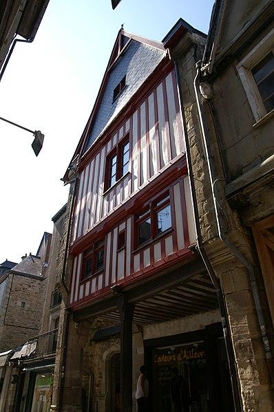 Photo du Monument Historique Maison ancienne situé à Vitré