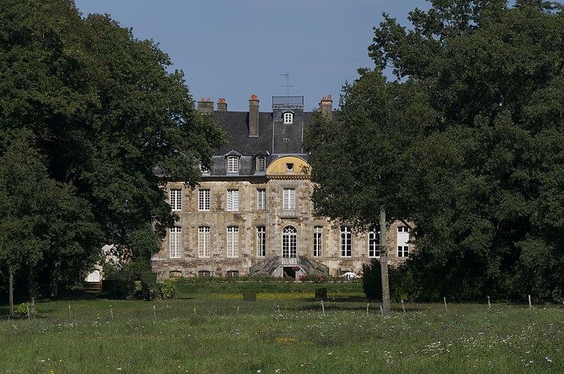 Photo du Monument Historique Château du Molant situé à Bréal-sous-Montfort