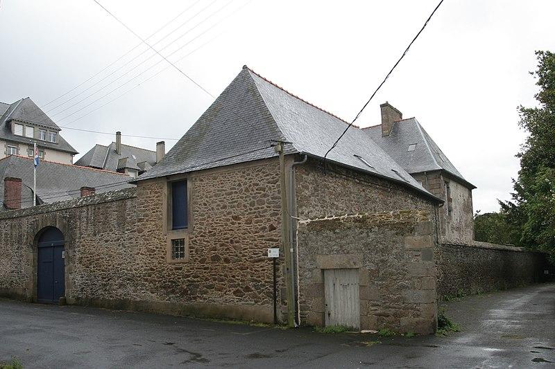 Photo du Monument Historique Manoir à l'Evêque situé à Saint-Malo