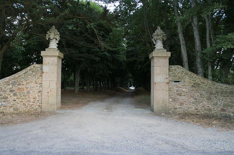 Photo du Monument Historique Malouinière de la Grande Gâtinais situé à Saint-Coulomb