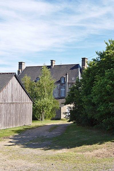 Photo du Monument Historique Logis des Courtils-Launay situé à Saint-Coulomb