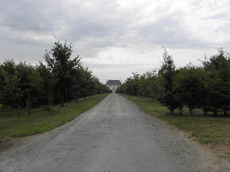 Photo du Monument Historique Logis du Mur Blanc, appelé aussi la Demaine ou le Domaine situé à Saint-Méloir-des-Ondes