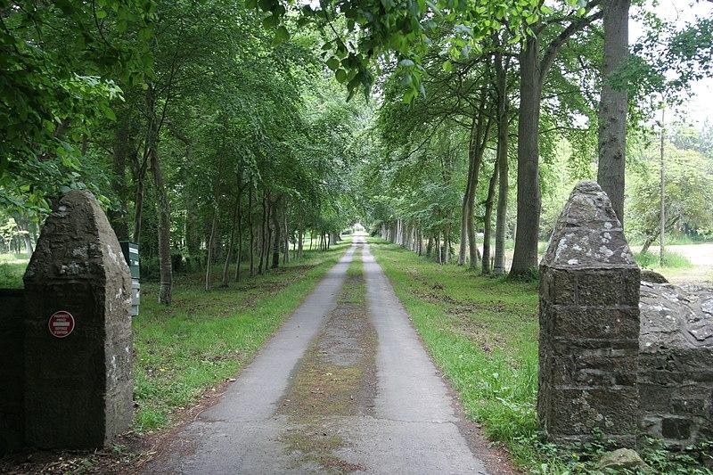 Photo du Monument Historique Malouinière de Launay-Ravilly situé à Saint-Père
